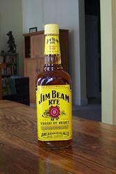 Jim Beam Straight Rye