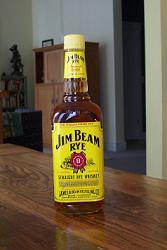 Jim Beam Straight Rye