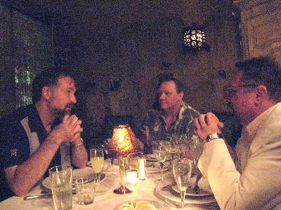 Robert, Gwydion & Ted