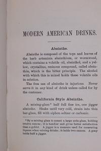 Modern American Drinks