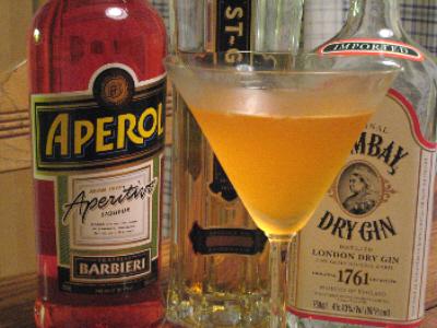 campari orange rezept aperitif